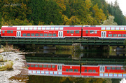 Immendingen, the Offenburg-Singen railway line's bridge