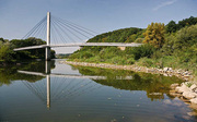 Bad Abbach, bicycle bridge