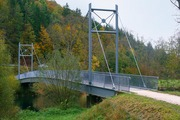 Bicycle bridge between Gutenstein and Dietfurth