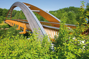 Neufra, bicycle bridge